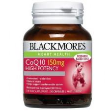 Blackmores CoQ10 150mg High Potency 30 Capsules