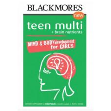 Blackmores Teen Multi for Girls 60 Capsules