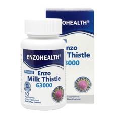 EnzhoHealth Enzo Milk Thistle 63000 60 Vege Capsules