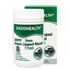 EnzoHealth Enzo Green Lipped Mussel 17500 180 VegeCapsules