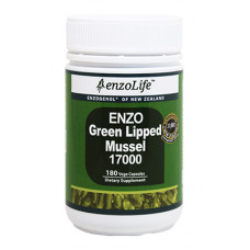 EnzoLife Enzo Green Lipped Mussel 17000 180 Vege Capsules