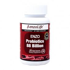 EnzoLife Enzo Probiotics 88 Billion 60 Vege Capsules