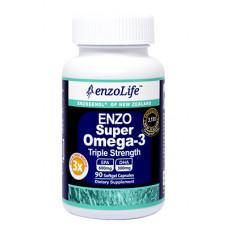 EnzoLife Enzo Super Omega-3 Triple Strength 90 Capsules