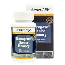 EnzoLife Neurogenol Senior Memory 60 VegeCapsules