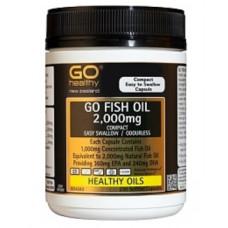 GO Healthy GO Fish Oil 2000mg Compact  230 Softgel Capsules