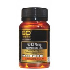 Go Healthy Go K2 75mcg Advanced Bone Care 30 VegeCapsules