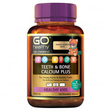 Go Healthy Go Kids Teeth Bone Calcium Plus 60 Chewable Tablets