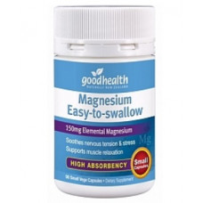 Good Health Magnesium Easy-to-swallow 90 Small Vege Capsules