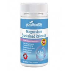 Good Health Magnesium Sustained Release 500mg 60 Tablets