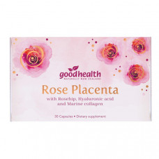 Good Health Rose Placenta 30 Capsules