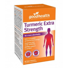 Good Health Turmeric Extra Strength 60 Vege capsules