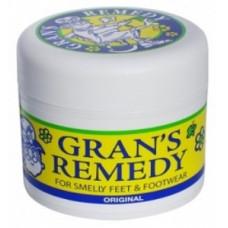 Gran's Remedy Foot Powder for Smelly Feet & Footwear Original 50g