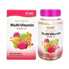 Hi Well Premium Multi Vitamin 90 Jelly Beans