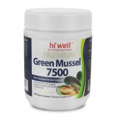 Hi Well Premium Green Mussel 7500 300 Capsules