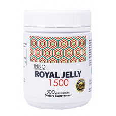 Inno Health and Care Royal Jelly 1500 300 Vege Capsules