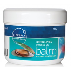 Lifespan Green Lipped Mussel Oil Balm 100g