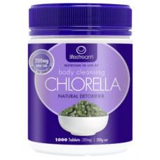 Lifestream Body Cleansing Chlorella 200mg 1000 Tablets