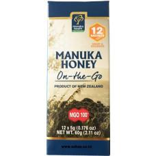 Manuka Health MGO™ 100+ Manuka Honey On-The-Go - 5g  x 12 sachets