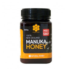 Natural Honey MGO 580+ Manuka Honey 500g