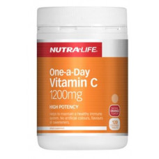 Nutra Life One-a-Day Vitamin C 1200mg 120 Chewable Tablets