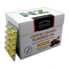 Peter & John Certified Organic Flaxseed Oil 200 Softgel Capsules