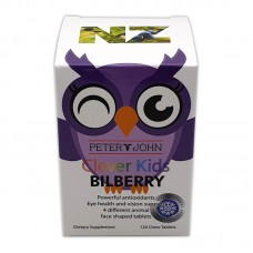 Peter & John Clever Kids Bilberry 120 Chewable Tablets