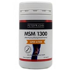 Peter & John MSM 1300 120 Capsules