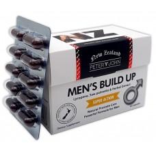 Peter & John Men's Build Up 60 Capsules