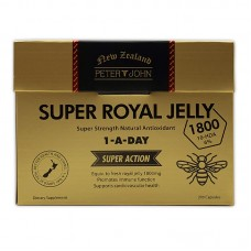 Peter & John Super Royal Jelly 1800 10HDA 6% 200 Capsules