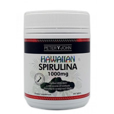 Peter & John Hawaiian Spirulina 1000mg 300 Tablets