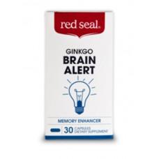 Red Seal Ginkgo Brain Alert 30 Capsules