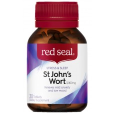 Red Seal St Johns Wort 3000mg 30Tablets