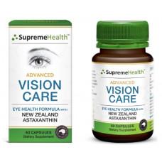 Supreme Health Advanced Vision Care 60 Capsules