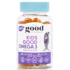 The Good Vitamin Co Kids Good Omega 3 Brain Boost 60 Soft Chews