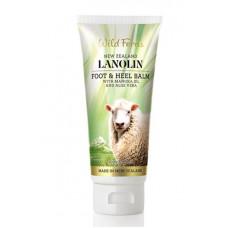 Wild Ferns Lanolin Foot and Heel Balm with Manuka Oil and Aloe Vera 100ml