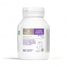 Bioisland Lysine Step Up For Youth Chewable 60 Tablets