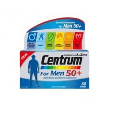Centrum For Men 50 Plus 60 Tablets