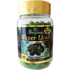 Evergreen Hyper Lipid 180 Capsules (New Batch products)