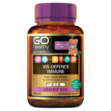 Go Healthy Go Kids Vir-Defence Immune 60 Chewable Tablets