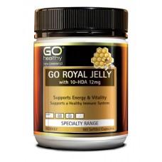 Go Healthy Go Royal Jelly  180 Capsules