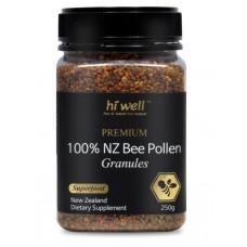 Hi Well Premium 100% NZ Bee Pollen Granules 250g