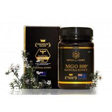 Natural Honey MGO 800+ Manuka Honey 500g