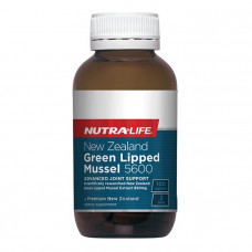Nutra Life New Zealand Green Lipped Mussel 5600 100 Capsules