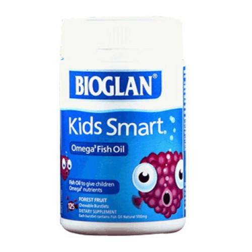 Bioglan Kids Smart Omega 3 Fish Oil 125 Soft Capsules