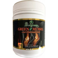 Evergreen Green mussel with glucosamine 180 Capsules