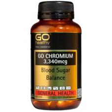 Go Healthy Chromium 120 Vege Capsules