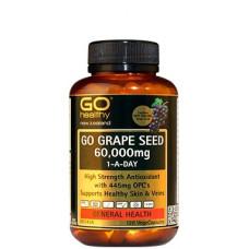 Go Healthy Go Grape Seed 60,000mg 120 Vege Capsules