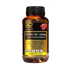 Go Healthy Go Krill Oil 1,500mg 60 Capsules
