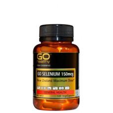 Go Healthy Go Selenium 150mcg 120 VegeCapsules