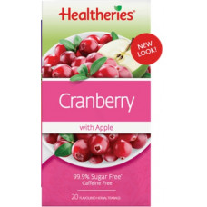 Healtheries Cranberry & Apple 20 tea bags